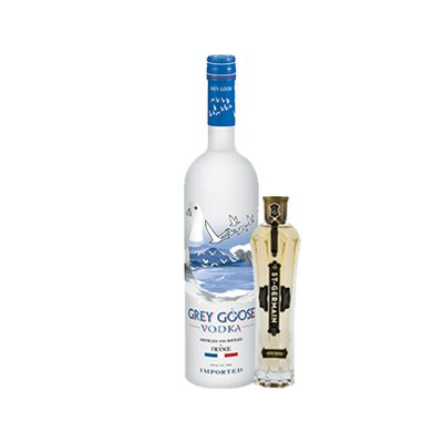Grey Goose, St Germain Bundle